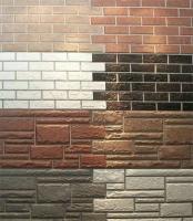 Цокольный сайдинг.Фасадные (литьевые) панели